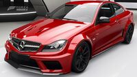 FH4 C63 Black Series Front