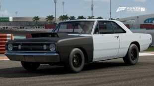 The 1968 Dodge Dart Hemi Super Stock in Forza Motorsport 7