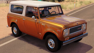 The 1970 International Scout 800A in Forza Horizon 3