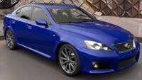 FH3 Lexus IS F Front