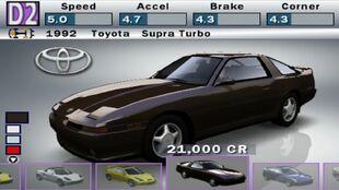 Toyota Supra Turbo in Forza Motorsport