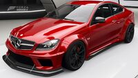 FH4 C63 Black Series LW Front