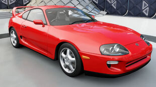 The 1998 Toyota Supra RZ in Forza Horizon 3