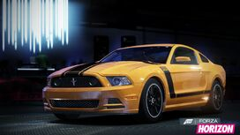 FH Ford Mustang Boss 302 Promo