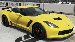 The 2015 Chevrolet Corvette Z06 in Forza Motorsport 7