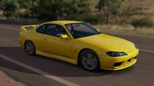 The Nissan Silvia Spec-R in Forza Horizon 3