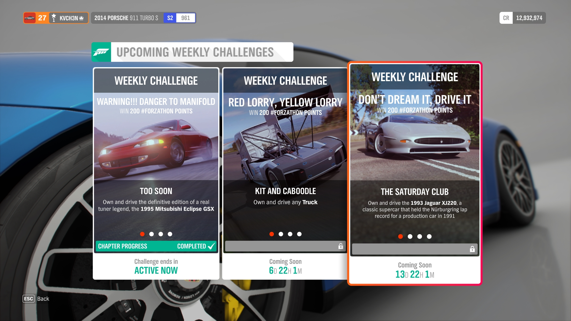Autumn Forzathon (February 2019) | Forza Motorsport Wiki