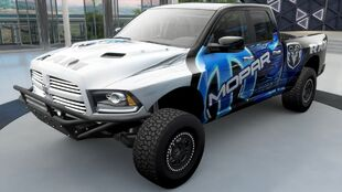The 2013 Ram Runner in Forza Horizon 3