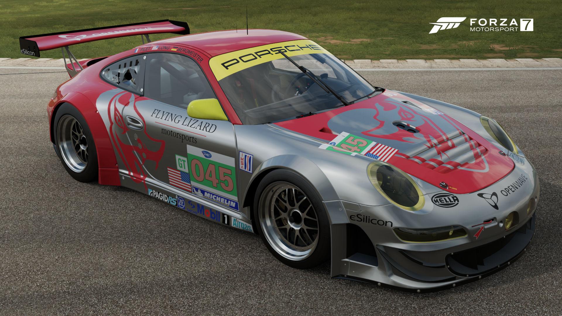 The  Flying Lizard  Gt Rsr In Forza Motorsport