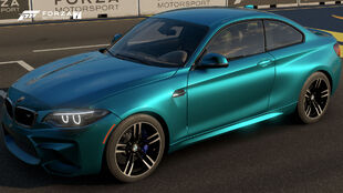 The 2016 BMW M2 Coupé in Forza Motorsport 7