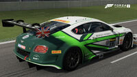 FM7 17 Bentley GT3 Rear