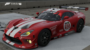 The 2014 Dodge #93 SRT Motorsports Viper GTS-R in Forza Motorsport 7