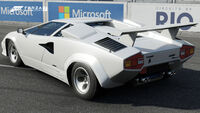 FM7 Lambo Countach Rear