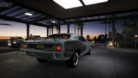 FS Plymouth Cuda Rear