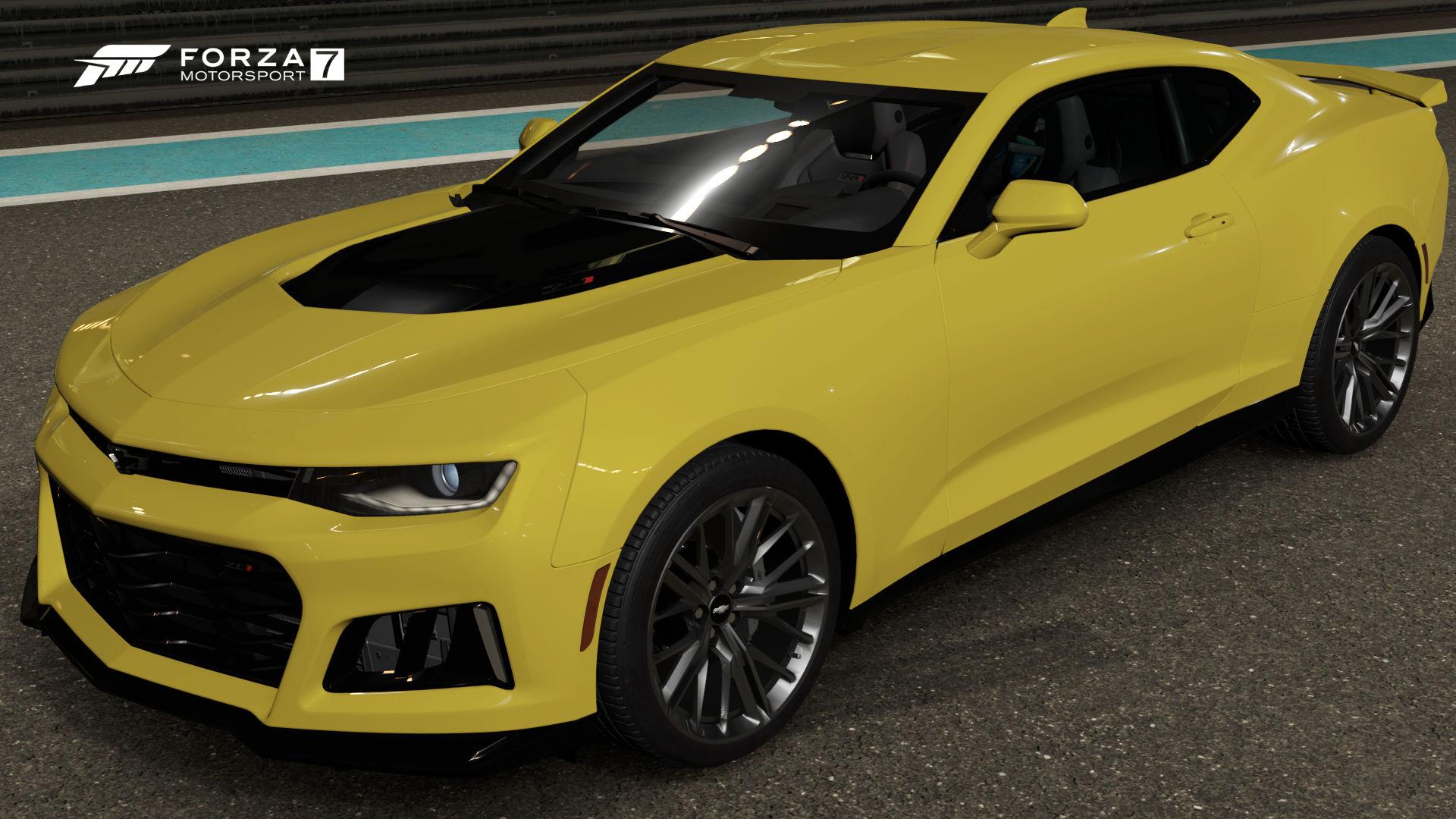 The  Chevrolet Camaro Zl In Forza Motorsport