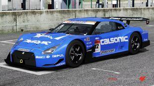 Nissan #12 CALSONIC IMPUL GT-R in Forza Motorsport 4
