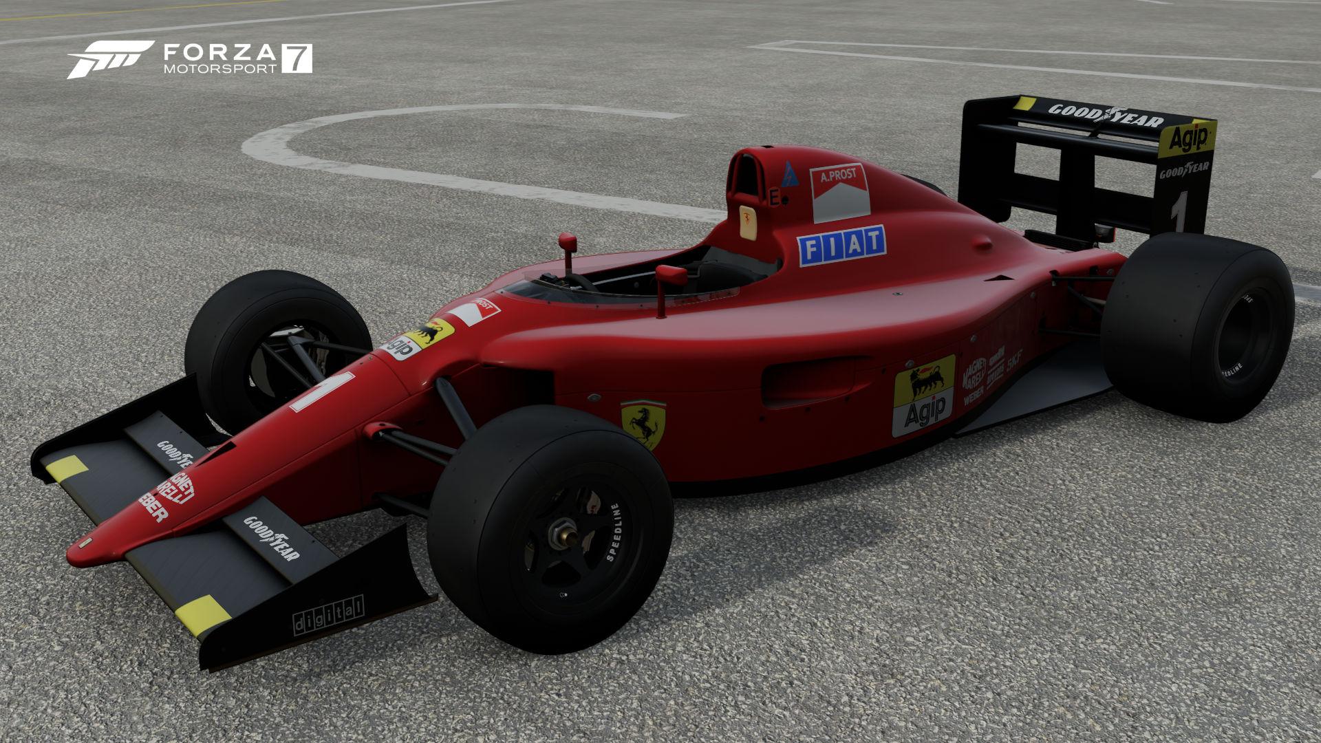 Ferrari #1 Scuderia Ferrari 641