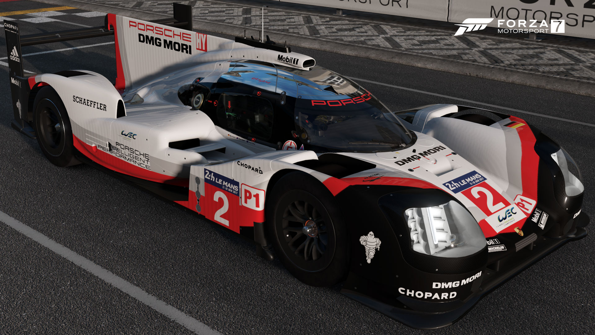 porsche 2 porsche team 919 hybrid forza motorsport wiki fandom powered by wikia. Black Bedroom Furniture Sets. Home Design Ideas