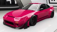 FH4 Nissan 240SX Upgrade Front