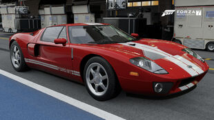 The 2005 Ford GT in Forza Motorsport 7