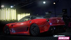 FH Ferrari 599XXEvoluzione-Rear