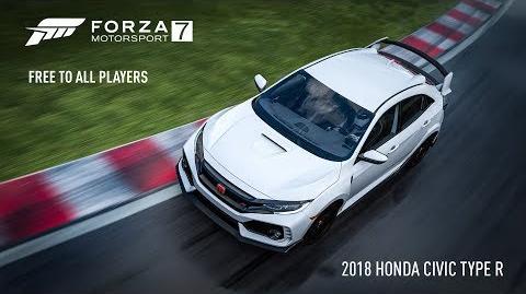 Forza Motorsport 7 -- 2018 Honda Civic Type R