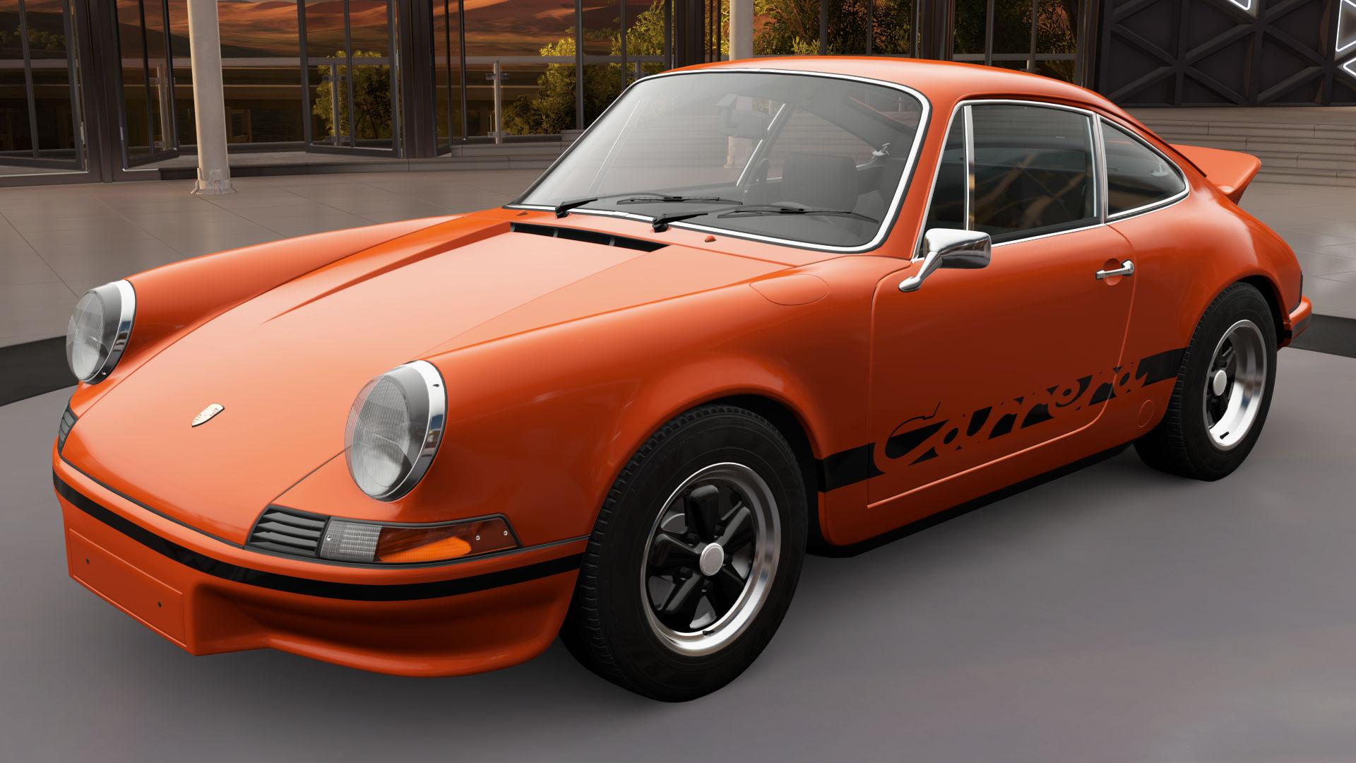 Porsche 911 turbo 1973