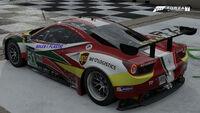FM7 51 Ferrari 458 Rear