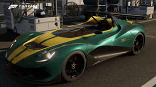 The 2016 Lotus 3-Eleven in Forza Motorsport 7