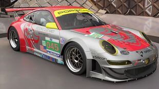 The Porsche 911 GT3 RSR in Forza Horizon 3