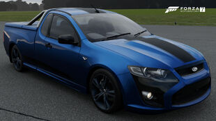 The 2014 Ford FPV Limited Edition Pursuit Ute in Forza Motorsport 7