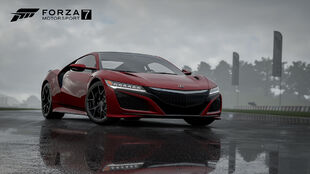 The Acura NSX in Forza Motorsport 7