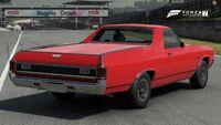 FM7 Chevrolet El Camino Rear