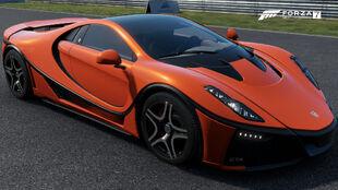 The 2016 Spania GTA Spano in Forza Motorsport 7