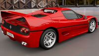 FH3 Ferrari F50 Rear