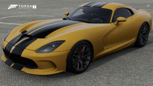 The 2013 SRT Viper GTS in Forza Motorsport 7