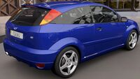 FH3 Ford Focus RS 2003 Rear