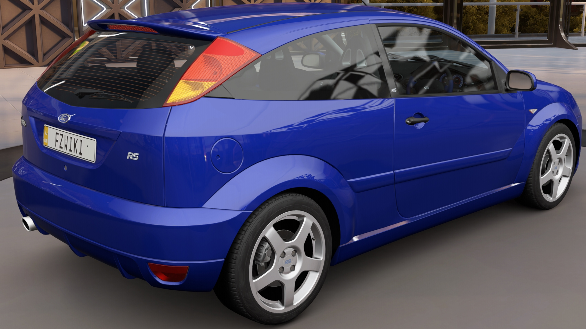 Image Fh3 Ford Focus Rs 2003 Rear Jpg Forza Motorsport Wiki