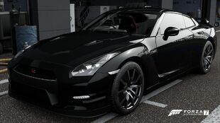 Nissan GT-R Black Edition in Forza Motorsport 7
