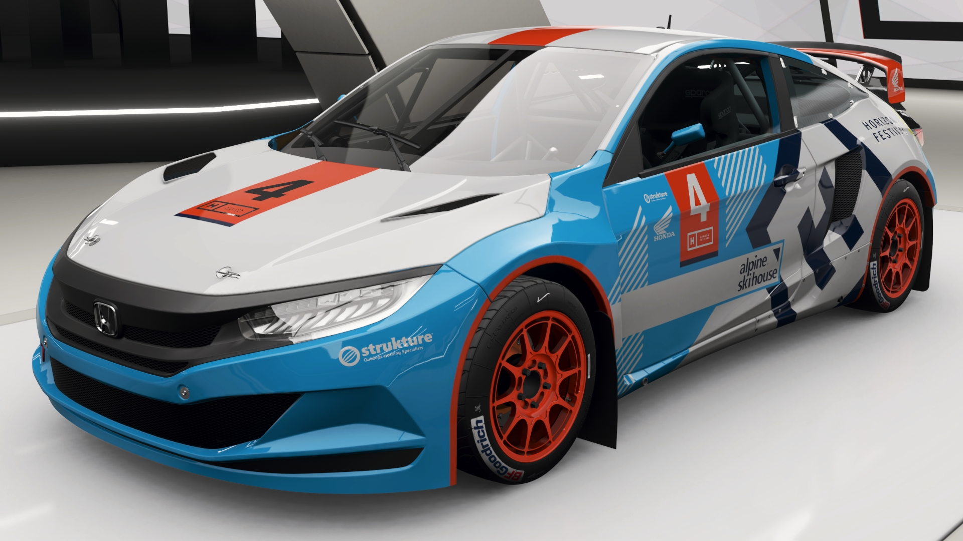 Honda Civic Coupe Grc Forza Motorsport Wiki Fandom Powered By Wikia