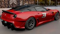 FH3 Ferrari 599XX Rear