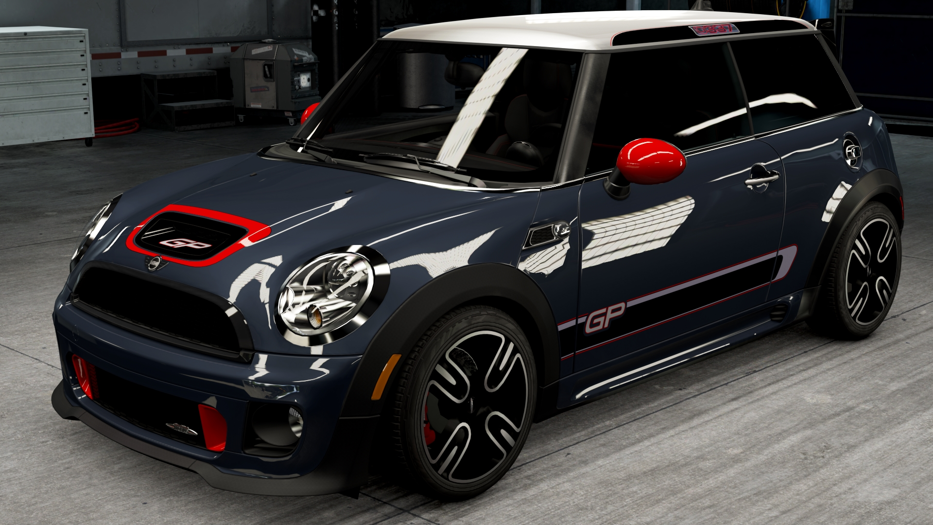 mini john cooper works gp forza motorsport wiki fandom powered by wikia. Black Bedroom Furniture Sets. Home Design Ideas