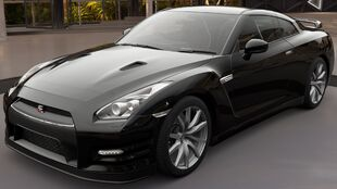 The 2012 Nissan GT-R Black Edition in Forza Horizon 3