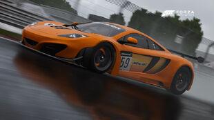 The McLaren #59 McLaren GT 12C GT3