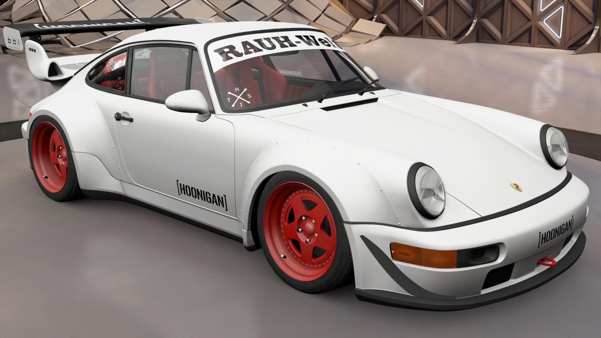 Hoonigan Rauh Welt Begriff Porsche 911 Turbo Forza Wiki Fandom