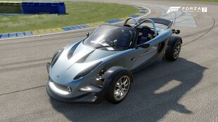 The 2000 Lotus 340R in Forza Motorsport 7