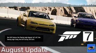 Forza Motorsport 7 August 2018 Update - New Drift Features Trailer