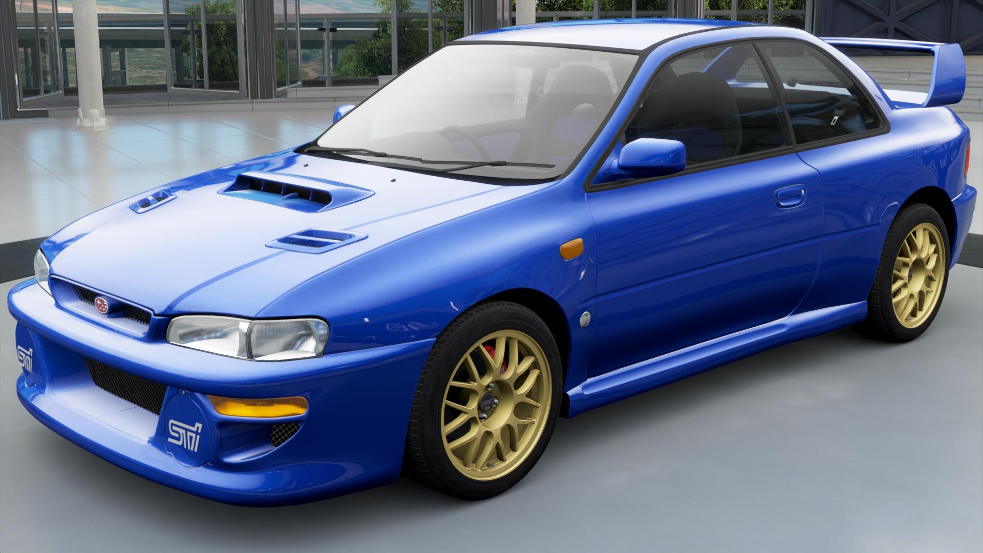 The 1998 Subaru Impreza 22b Sti In Forza Horizon 3