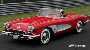 1960 Chevrolet Corvette in Forza Motorsport 7