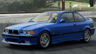 The 1997 BMW M3 (E36) in Forza Motorsport 7